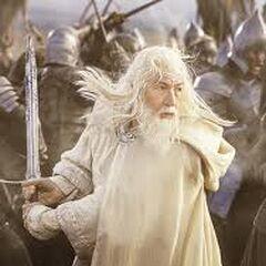 Gandalf The White (Center)