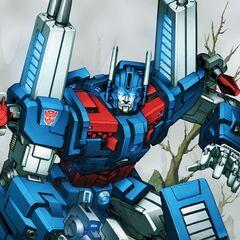 Autobot City Commander Ultra Magnus