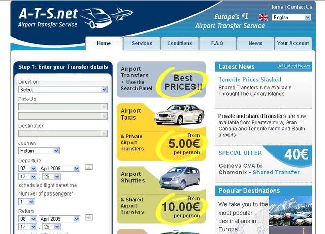 File:Airport Transfer Service frontpage screenshot.jpg