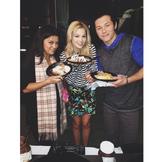 Olivia holt with so food with Leo Howard