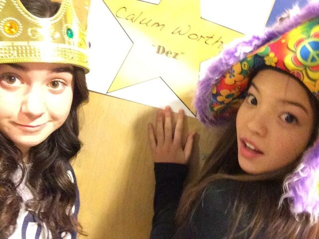 File:Sarah and Piper in Front of Dressing Room.jpg