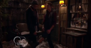 Logan Showing Leg
