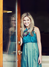Mirror View of Olivia Holt