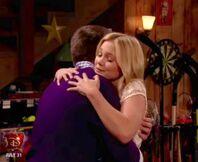 Larrett second hug