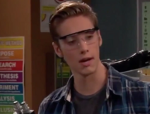 Logan Wearing Goggles