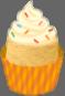 File:Icon - Cupcake - orange.png