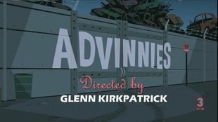Advinnies episode title card