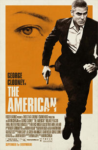 The American (2010) poster