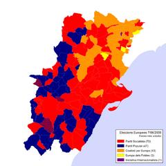 Eleccions Europees 2009-06-07