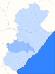 Localització del barranc del Boc