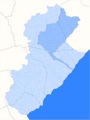 Localització del barranc del Torrent del Pi