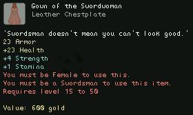 Gown of the Swordsman