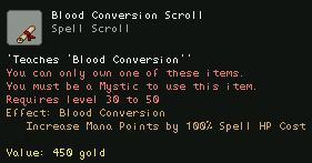 Blood Conversation Scroll