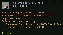 Ancient Healing Scroll