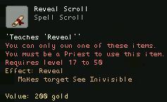 Reveal Scroll
