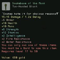 Snakebane of the Monk