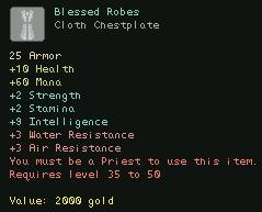 Blessed Robes