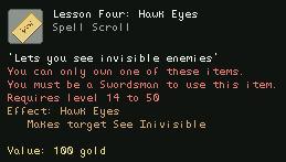 Lesson Four Hawk Eyes