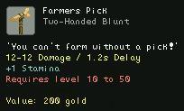 Farmers Pick