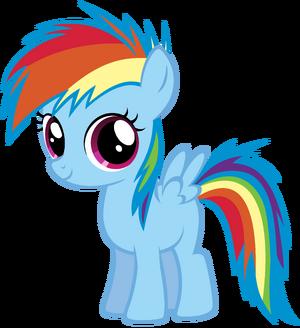 Young rainbow dash by atomicgreymon-d3d1u8w