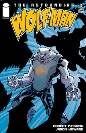 Cover for Astounding Wolf-Man #3 (2007)
