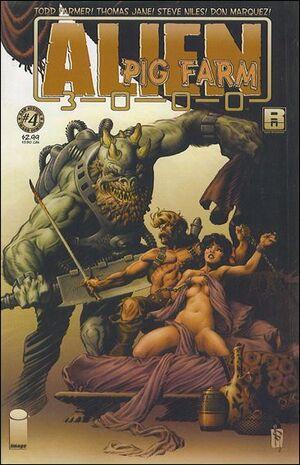 Cover for Alien Pig Farm 3000 (2007)