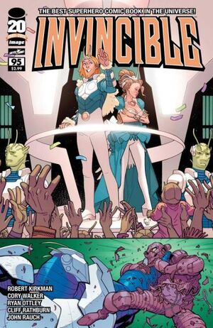 Cover for Invincible #95 (2012)