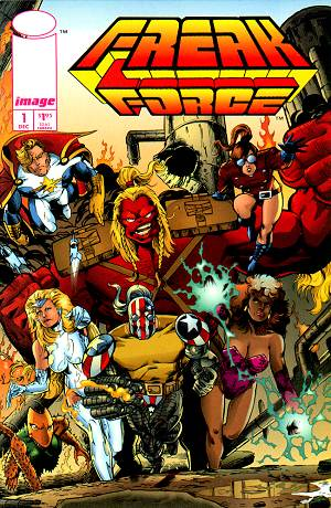 Cover for Freak Force #1 (1993)