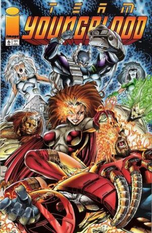 Cover for Team Youngblood #6 (1994)