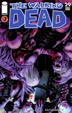 Cover for The Walking Dead #29