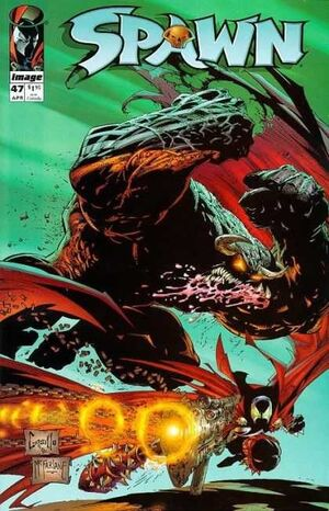 Cover for Spawn #47 (1996)