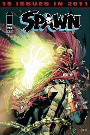 Cover for Spawn #212 (2011)