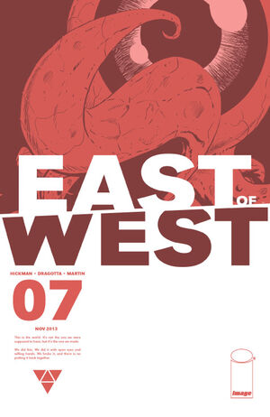 Cover for East of West #7 (2013)