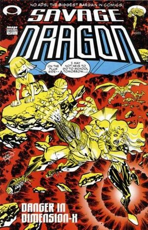 Cover for Savage Dragon #110 (2003)