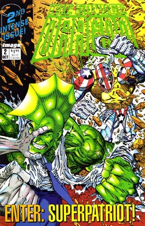 Cover for Savage Dragon (Mini-series) #2 (1992)
