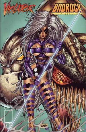 Cover for Violator vs. Badrock #2 (1995)