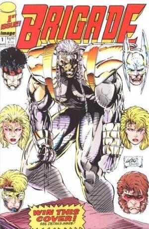 Cover for Brigade #1 (1992)