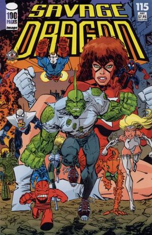 Cover for Savage Dragon #115 (2004)