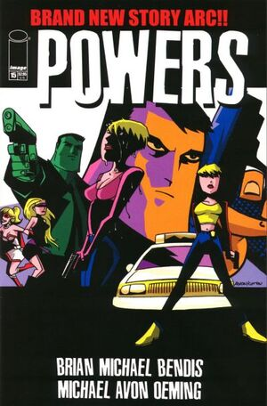 Cover for Powers #15 (2001)