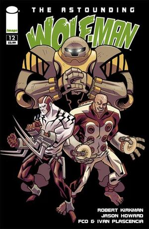 Cover for Astounding Wolf-Man #12 (2009)