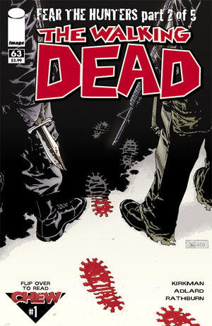 Cover for The Walking Dead #63 (2009)