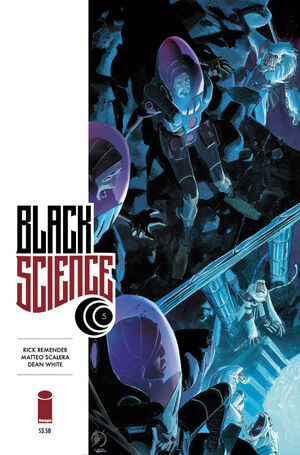 Cover for Black Science #5 (2014)