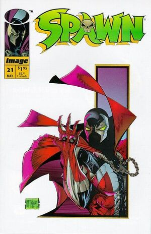 Cover for Spawn #21 (1994)