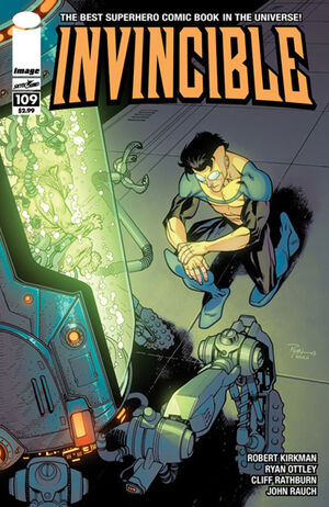 Cover for Invincible #109 (2014)