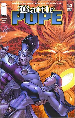 Cover for Battle Pope #14 (2007)
