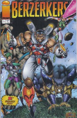 Cover for Berzerkers #1 (1995)