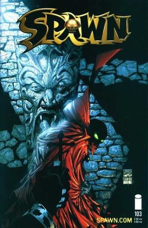 Cover for Spawn #103 (2001)