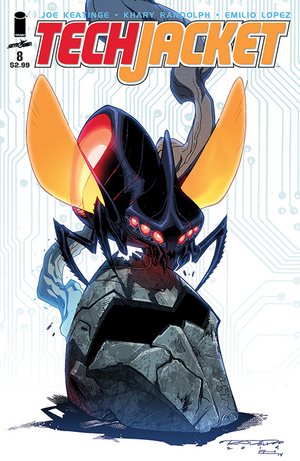 Cover for Tech Jacket #8 (2015)