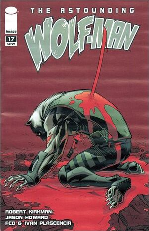 Cover for Astounding Wolf-Man #17 (2009)