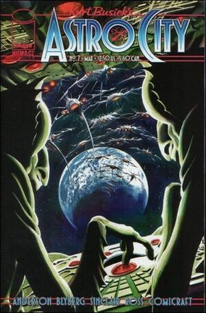 Cover for Astro City #7 (1997)